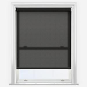Eclipse Origin Plain Black Roller Blind