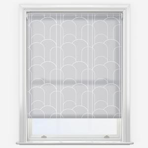 Sonova Studio Arch Deco French Grey Roller Blind