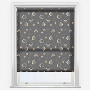 Sonova Studio Astrology Dusk Black Roller Blind