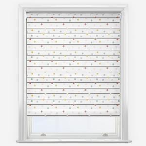 Sonova Studio Dotty Stripe Pastel Roller Blind