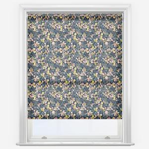Sonova Studio Petal Pattern Midnight Blue Roller Blind