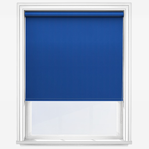 Touched By Design Absolute Blackout Blue Roller Blind