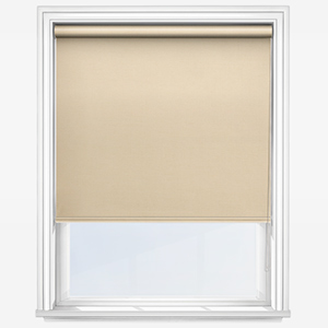 Touched By Design Absolute Blackout Cream Roller Blind