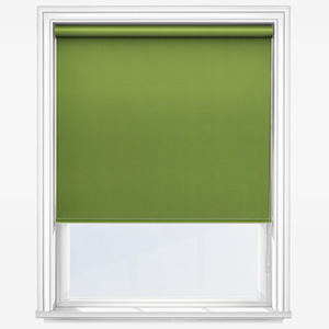 Touched By Design Absolute Blackout Green Roller Blind