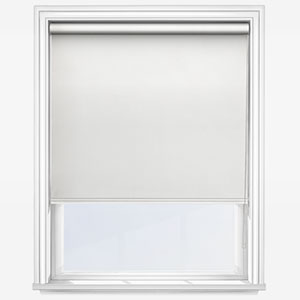 Touched By Design Absolute Blackout Prime White Roller Blind