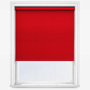 Touched By Design Absolute Blackout Red Roller Blind