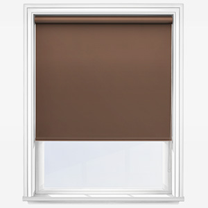 Touched By Design Absolute Blackout Taupe Roller Blind