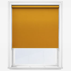 Touched By Design Absolute Blackout Yellow Roller Blind