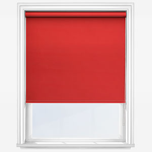 Touched by Design Deluxe Plain Coral Roller Blind