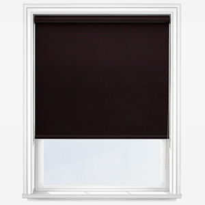 Touched by Design Deluxe Plain Espresso Roller Blind