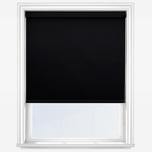 Touched by Design Deluxe Plain Jet Roller Blind