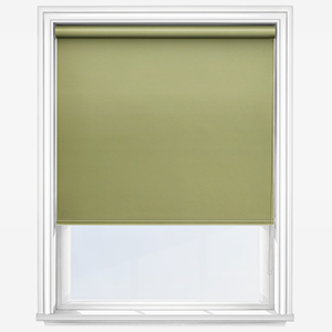 Touched by Design Deluxe Plain Lime Roller Blind