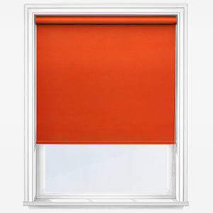 Touched by Design Deluxe Plain Orange Marmalade Roller Blind