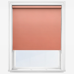 Touched by Design Deluxe Plain Papaya Roller Blind