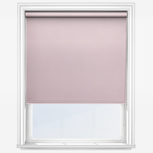 Touched by Design Deluxe Plain Peony Pink Roller Blind