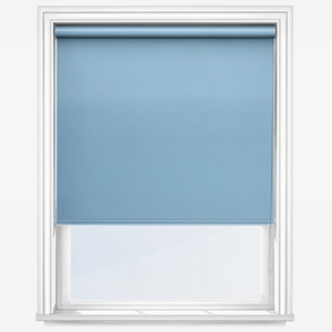 Touched by Design Deluxe Plain Powder Blue Roller Blind