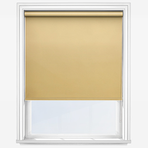 Touched by Design Deluxe Plain Primrose Yellow Roller Blind