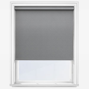 Touched by Design Deluxe Plain Storm Grey Roller Blind