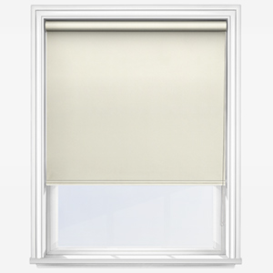 Touched by Design Deluxe Plain Vanilla Cream Roller Blind