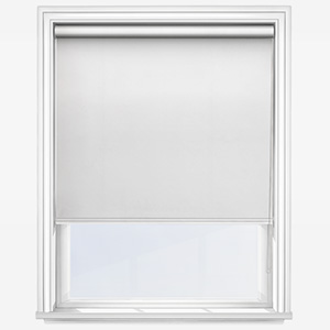Touched By Design Deluxe Plain White Roller Blind