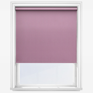 Touched by Design Deluxe Plain Wisteria Roller Blind