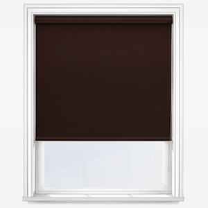 Touched By Design Optima Dimout Chocolate Roller Blind