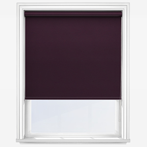 Touched By Design Optima Dimout Plum Roller Blind