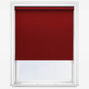 Touched By Design Optima Dimout Red Roller Blind