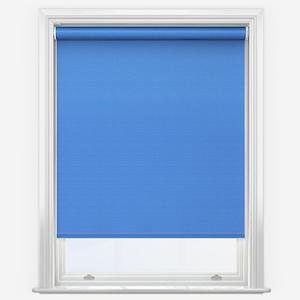 Touched by Design Supreme Blackout Cornflower Blue Roller Blind