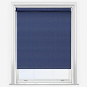 Touched by Design Supreme Blackout Denim Blue Roller Blind