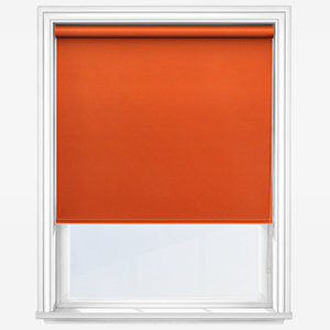 Touched by Design Supreme Blackout Orange Marmalade Roller Blind