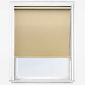 Touched by Design Supreme Blackout Primrose Yellow Roller Blind