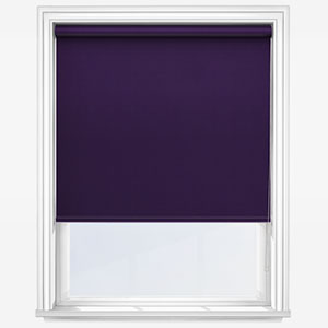 Touched by Design Supreme Blackout Purple Roller Blind