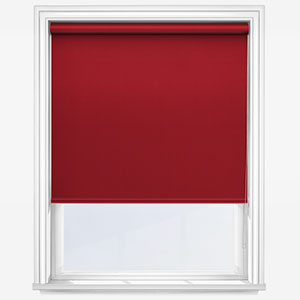 Touched by Design Supreme Blackout Red Roller Blind