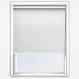 Touched By Design Supreme Blackout White Roller Blind