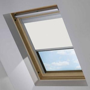 Essentials Delicate Cream Blackout Roof Blind