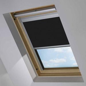 Essentials Jet Black Blackout Roof Blind