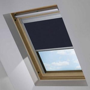 Essentials Midnight Blue Blackout Roof Blind