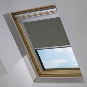 Essentials Pewter Roof Blind