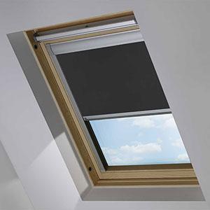 Essentials PVC Black Roof Blind