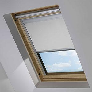 Essentials PVC Grey Roof Blind