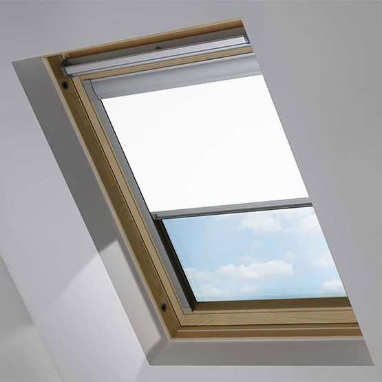 Essentials PVC White roof_blind