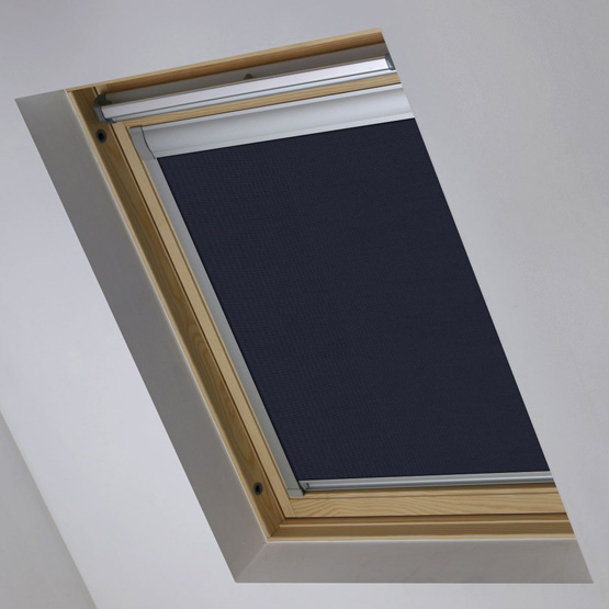 Essentials Midnight Blue Blackout roof_blind