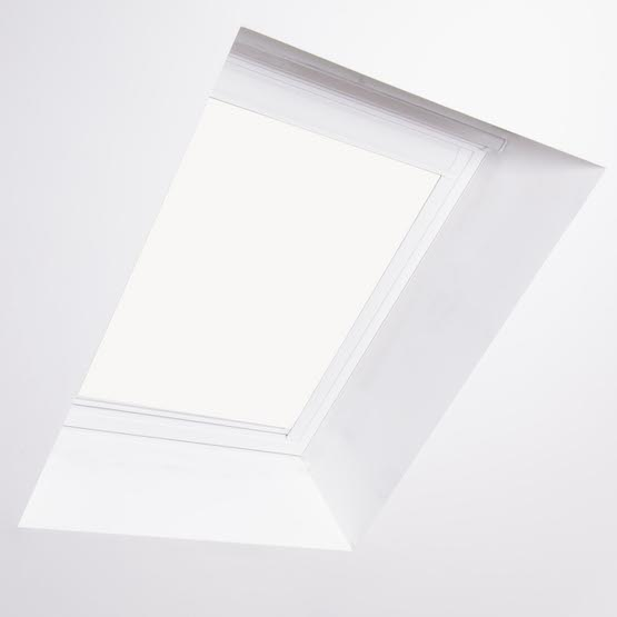 Essentials Blossom White Blackout roof_blind
