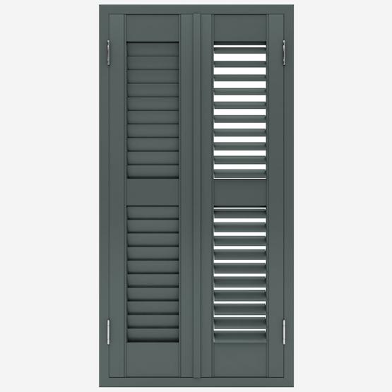 Premier Dark Grey shutter