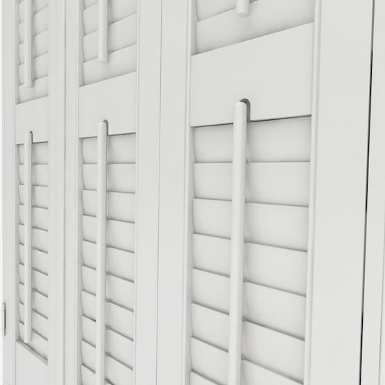 Premier Chalk White shutter