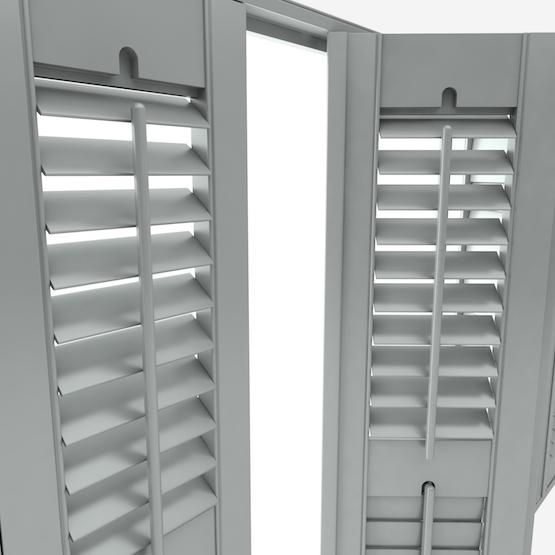 Premier Slate Grey shutter