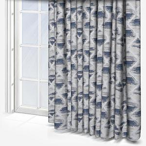 Ashley Wilde Ettrick Indigo Curtain