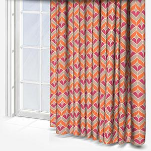 Ashley Wilde Illion Nectarine Curtain