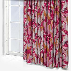 Camengo Joie Fuschia Curtain